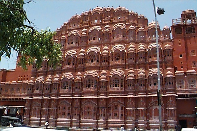 The Hawa Mahal, the Palace of the Winds